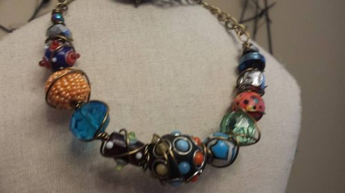 Jessie James Bead Necklace by Cindi Bernloehr  - featured on Jewelry Making Journal