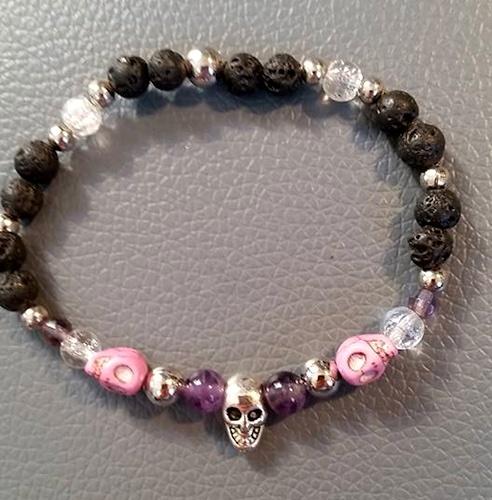 Halloween Bracelet by Jan  - featured on Jewelry Making Journal