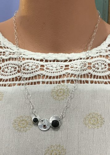 Celestial Necklace by Janine  - featured on Jewelry Making Journal