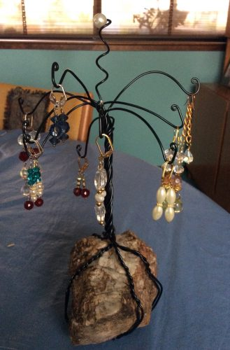 Wire Jewelry Trees by Patti Kubran  - featured on Jewelry Making Journal