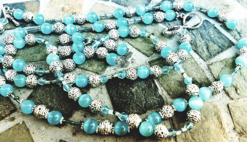 Ice Blue Jewelry by Paula  - featured on Jewelry Making Journal