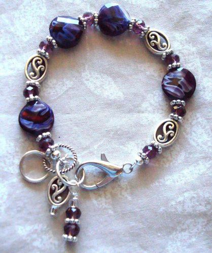 Adjustable Bracelets, Different Colors, Same Beads
