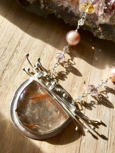 Winter Botanical Splendor by Tina Murphy  - featured on Jewelry Making Journal