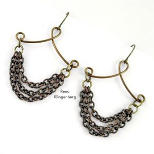 Victorian Chain Earrings (Tutorial)