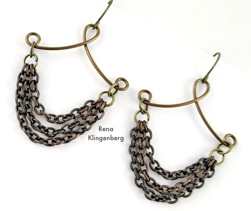 Victorian Chain Earrings (Tutorial)