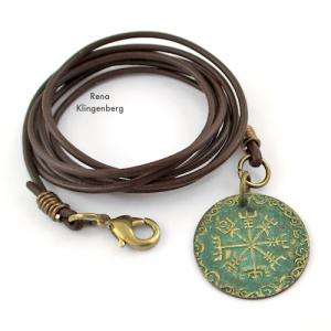 Leather Cord Wrap Bracelet (Tutorial)