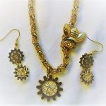 Steampunk Bee Jewelry Set