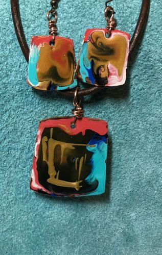 Fading Alcohol Ink on Copper Even Though Coated  - Discussion on Jewelry Making Journal