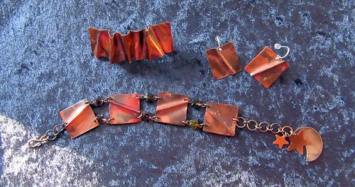 Formfold - Fire Patina Fascination by Carol Santora  - featured on Jewelry Making Journal