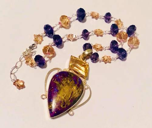 Using What I Already Have to Make Necklaces by Jennifer  - featured on Jewelry Making Journal