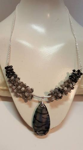 Dragon's Tale Necklace by Stephanie Little  - featured on Jewelry Making Journal