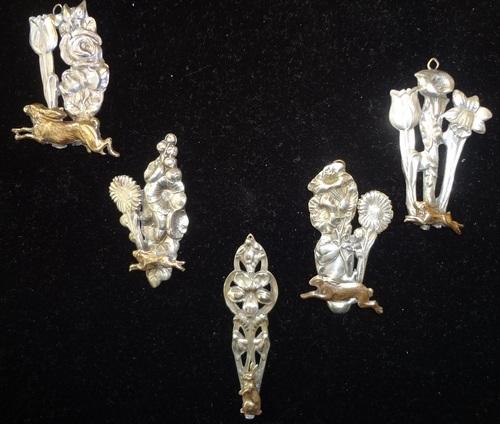 Silver Spoon Pendants by Debra Lowe  - featured on Jewelry Making Journal
