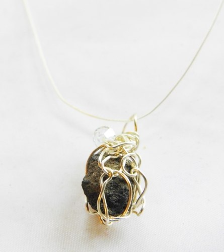 Wire Wrapping Unique Iceland Lava by Jean Forman  - featured on Jewelry Making Journal
