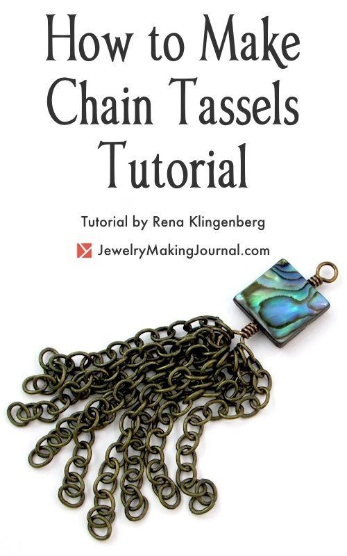 How to Make Chain Tassels Tutorial by Rena Klingenberg