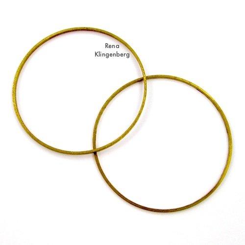 Big Hoops for Make Filigree Earrings 10 Design Ideas Tutorial by Rena Klingenberg