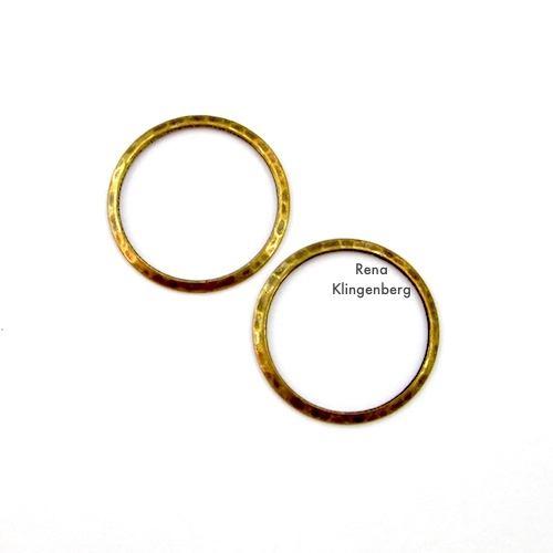 Small Hoops for Make Filigree Earrings 10 Design Ideas Tutorial by Rena Klingenberg