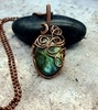 Wire Wrapped Labradorite