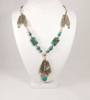 3 Feathers Boho Necklace