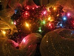 Tissue Papered Chandelier Drop Pendants/Christmas Ornaments