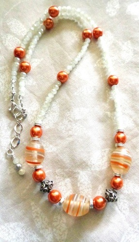 Summer Necklaces - Easy Stringing by Kathy Zee  - featured on Jewelry Making Journal