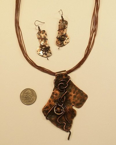 Hammering is Therapy by Joanne Pust  - featured on Jewelry Making Journal