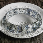 Springbreak Bracelet with Genuine Forget-Me-Not Flowers