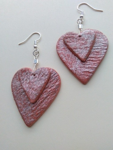 Recent Experiment in Air Drying Clay by Margaret Hobbs  - featured on Jewelry Making Journal