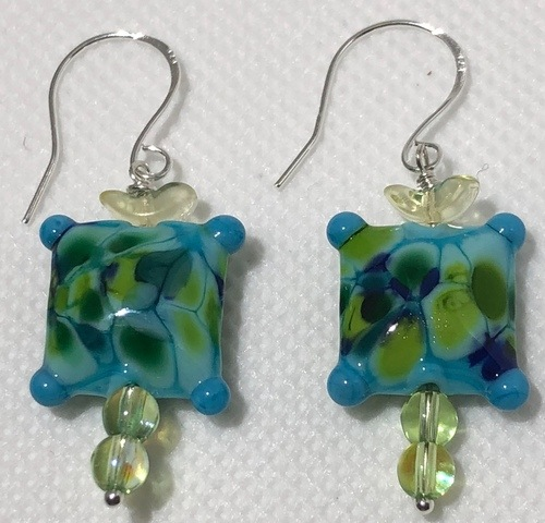 Earrings - Which Way Does the Wind Blow? by Patti Pojer  - featured on Jewelry Making Journal
