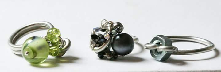 Rings the Thing by Annette Revilla  - featured on Jewelry Making Journal