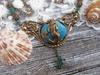 Mermaid Cove Art Nouveau Necklace