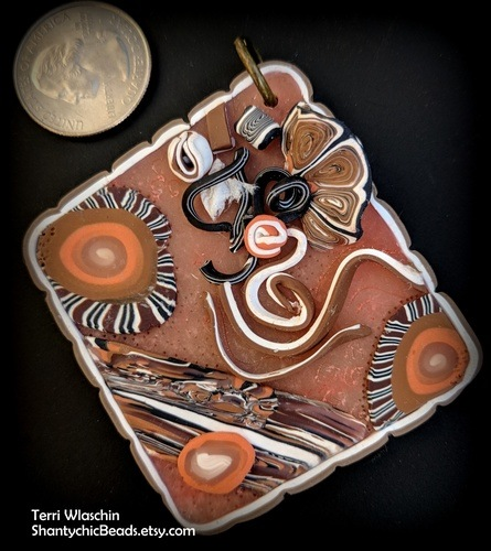 Abstract Landscapes - is That an Oxymoron? by Terri Wlaschin  - featured on Jewelry Making Journal