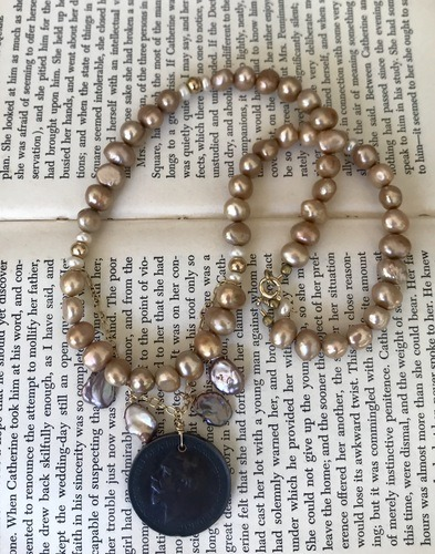 New Heirloom Necklaces by Liz Juneau  - featured on Jewelry Making Journal