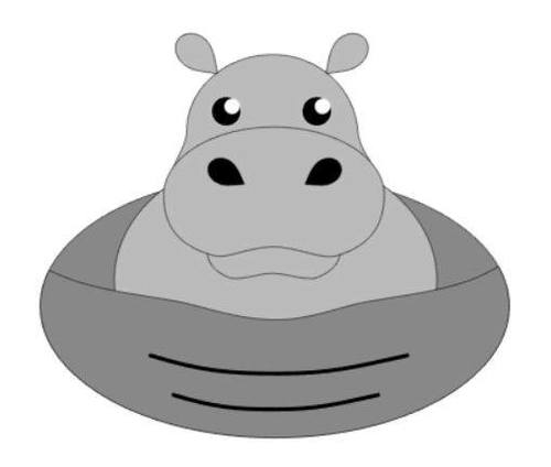 Henry the Hippo Pendant by Tammy Baalman  - featured on Jewelry Making Journal