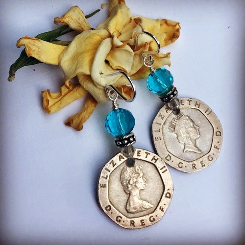 Making Jewelry with a Forgotten Coin Collection by Liz Juneau  - featured on Jewelry Making Journal