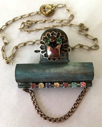 Vintage Paperclip Jewelry by Mary Ferland  - featured on Jewelry Making Journal