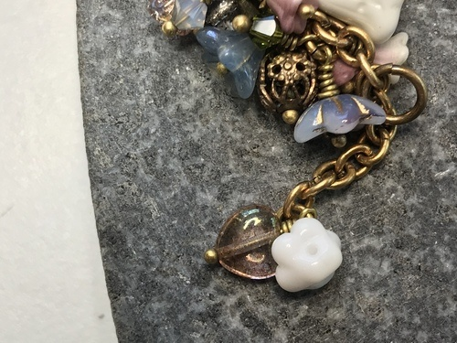 How to Attach Small Vintage Buttons to This Bracelet?  - Discussion on Jewelry Making Journal