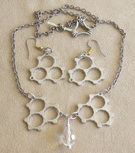 Liquid Refreshment Jewelry Set by Nancy Vaughan