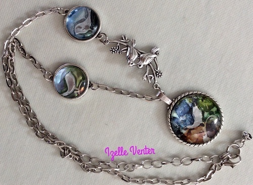 Pendants - the Sky is the Limit, by Izelle Venter  - featured on Jewelry Making Journal
