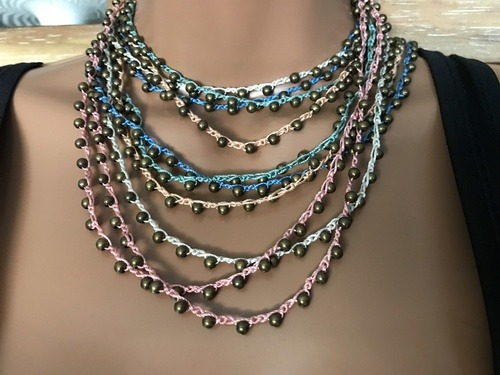 Vintage Style Necklaces by Denise Bellinger  - featured on Jewelry Making Journal