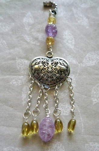 Fan Pulls That Are Easy to Make Using Spare Jewelry Findings by Kathy Zee  - featured on Jewelry Making Journal