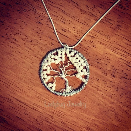 Tree of Life Designs by Michelle Maple  - featured on Jewelry Making Journal