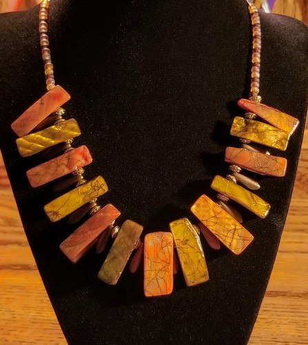 Tropical Treasure Necklaces by Chris Rehkop  - featured on Jewelry Making Journal
