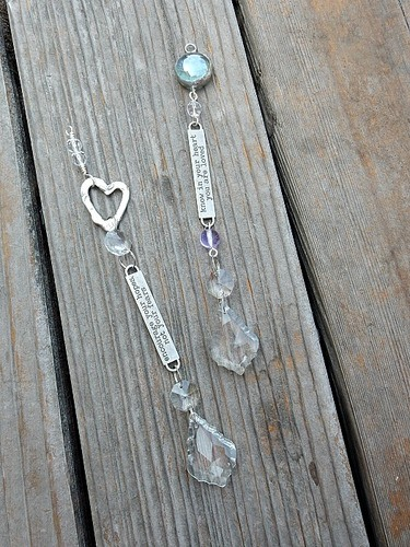 Crystal Sun Catchers by Lynda Carson  - featured on Jewelry Making Journal
