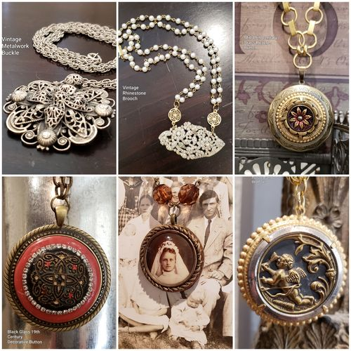 Flight of Shadows - Jewelry with History by Deborah Rodriguez  - featured on Jewelry Making Journal