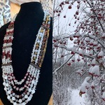 """""""A Walk in The Park"""" Necklace by Nora - featured on Jewelry Making Journal"""
