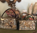 Upcycled Vintage Costume Jewelry Party Purse by Carol Wofford - featured on Jewelry Making Journal
