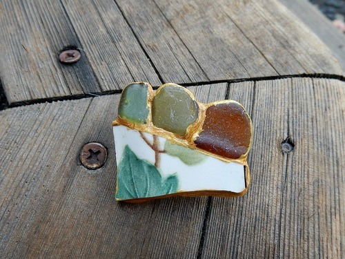 Jewelry and the Japanese Art of Kintsugi by Lynda Carson  - featured on Jewelry Making Journal