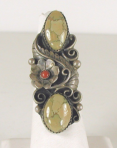 Can You Identify the Stones in This Vintage Navajo Ring?  - Discussion on Jewelry Making Journal