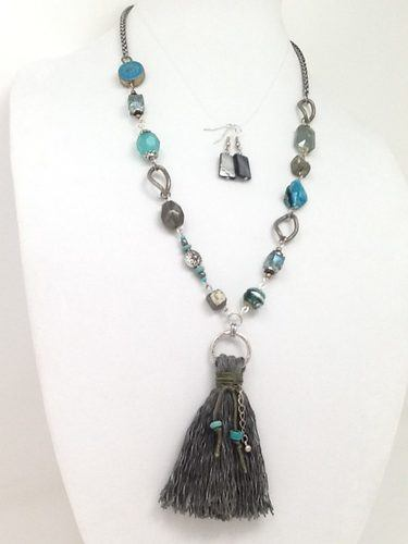 Cold Mountain Necklace by Joshlyn d Greever  - featured on Jewelry Making Journal