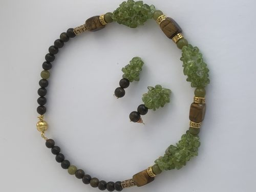 Jewelry Inspired by Moss by Nora  - featured on Jewelry Making Journal